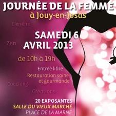 Journée de la Femme à Jouy-en-Josas le 6 avril 2013