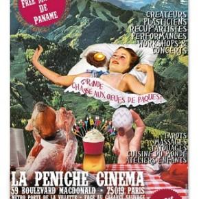 Espace réflexologie à la Péniche Cinéma au Parc de la Villette les 5 et 6 avril 2015