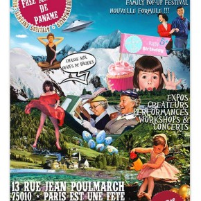 Le Free Market de Paname les 4 et 5 juin 2016 M° Goncourt - République